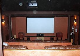 Home Theater Design - Contact our construction company in West Peabody, Massachusetts, for professional contractors who specialize in kitchens, bathrooms, and siding.